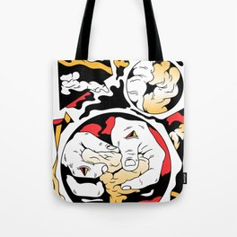Playing with the dough Tote Bag