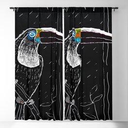 toucan birds animals jungle Blackout Curtain