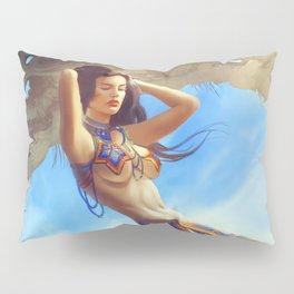 Mexican Mermaid Pillow Sham
