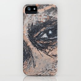 Abstract Eyes iPhone Case