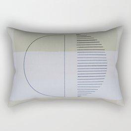 Twilight Moon Rectangular Pillow