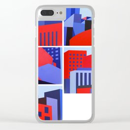 Mexico City images Clear iPhone Case