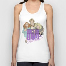 Doctor Who's The Boss? Unisex Tank Top
