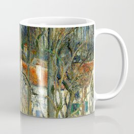 "Camille Pissarro ""The Côte des Bœufs at L'Hermitage"" Coffee Mug"