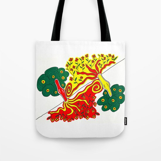 Rooted caress Tote Bag