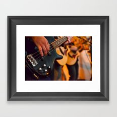 Jokers & Thieves live at the Dancing Camel Framed Art Print