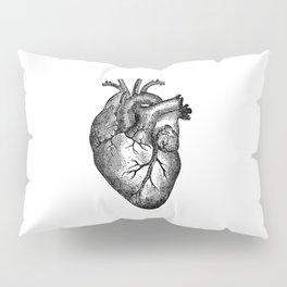 Vintage Heart Anatomy Pillow Sham