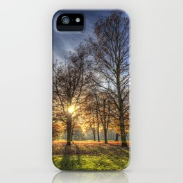 Autumn in Greenwich Park iPhone Case