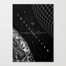 Interstellar Canvas Print