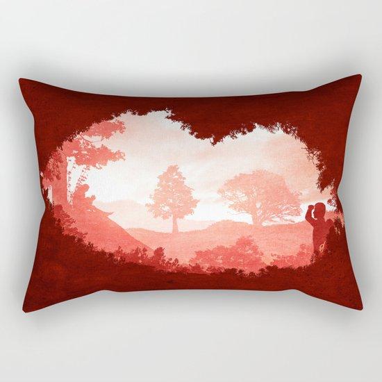 When we kissed Rectangular Pillow