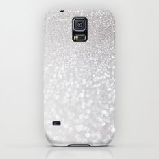 Silver ice - glitter - Luxury design Galaxy S5 Slim Case