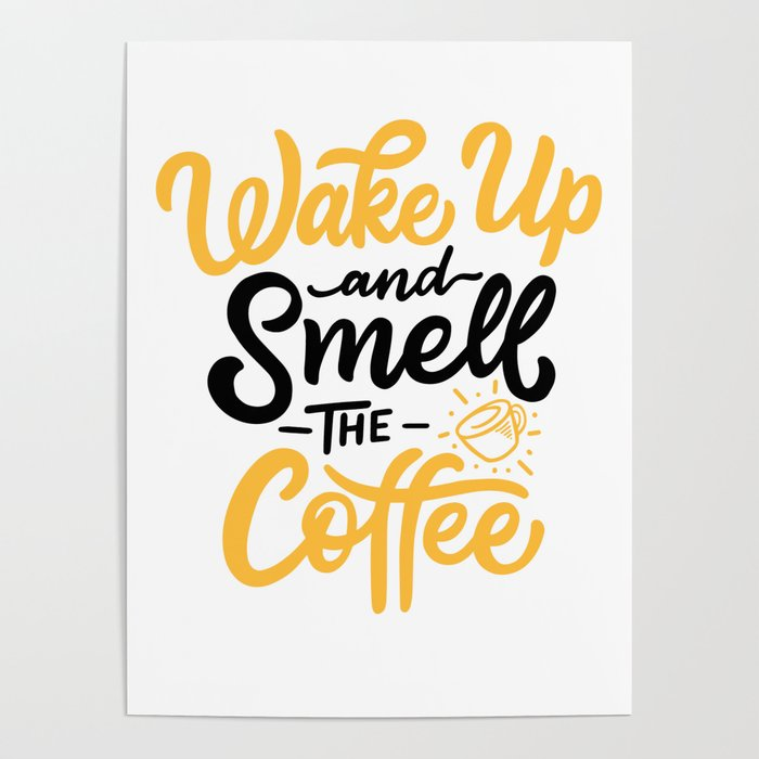 wake up and smell the coffee book