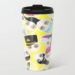 BIGBANG Collage (Yellow) Metal Travel Mug