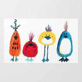 Birds in a Row Rug