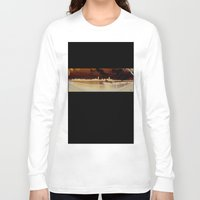 boston Long Sleeve T-shirts featuring Boston by Kayla Ivey