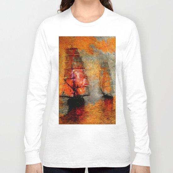melancholic boats Long Sleeve T-shirt
