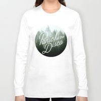 panic at the disco Long Sleeve T-shirts featuring Panic! at the disco round trees (not transparent) by Van de nacht