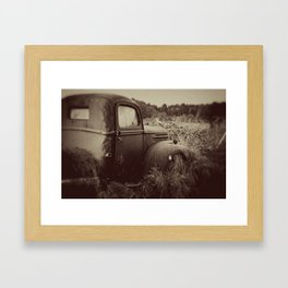 The Past Framed Art Print