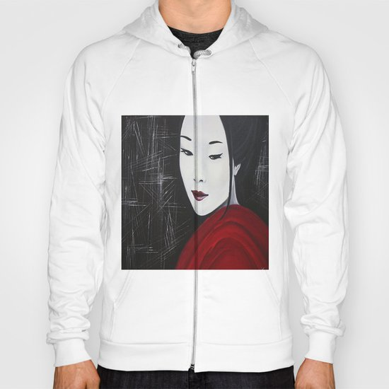 Japanese Beatufil Girl Hoody