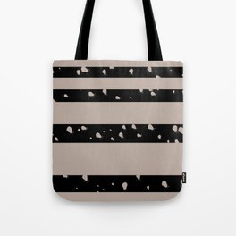 Stripes and Ink Tote Bag