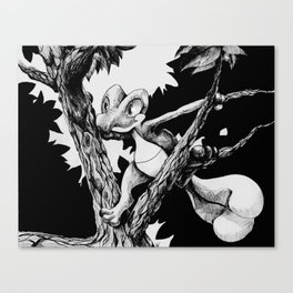 Treecko Canvas Print