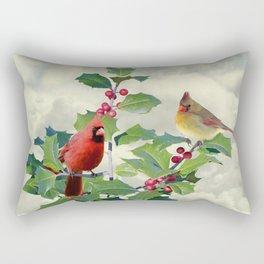 Spade's Cardinals Rectangular Pillow
