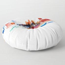 Zenith City Floor Pillow