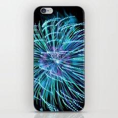 Teal New Year iPhone & iPod Skin