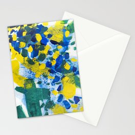 Pool Leaves Stationery Cards