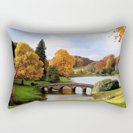 The pantheon england Rectangular Pillow