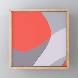 Realismo rosa Framed Mini Art Print