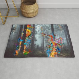 Forest of Sea Creatues Rug