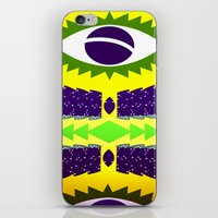 brazil iPhone & iPod Skins featuring BRAZIL CUP by Chrisb Marquez