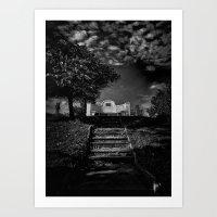 Tombstone Shadow No 9 Art Print