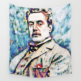Giacomo Puccini (1858 – 1924) digitized photography Wall Tapestry