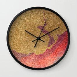 circular poster Wall Clock