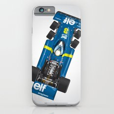 Outline Series N.º3, Jody Scheckter, Tyrrell-Ford 1976 Slim Case iPhone 6s
