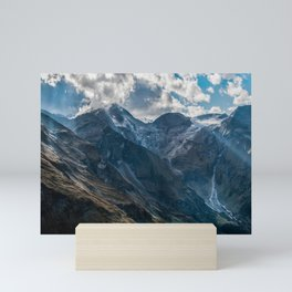 The first rays of sun Mini Art Print