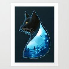 Guardians of the Night Art Print