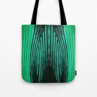 ikat Tote Bags featuring IKAT IKAT by SHERYLCOLOUR