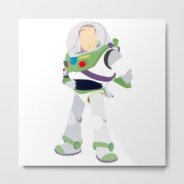 Buzz Lightyear Metal Print