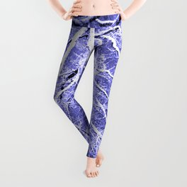 Passage to Hades Periwinkle Gray Leggings