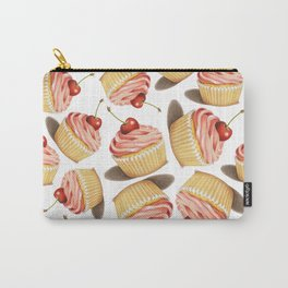Pink Cupcakes Carry-All Pouch