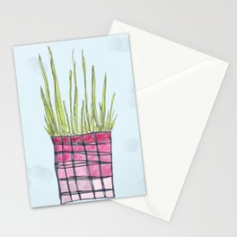 Little Potted Plant Stationery Cards