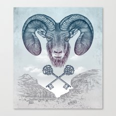 The Ram (Aries) Canvas Print