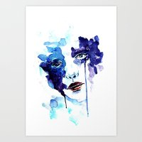 ultraviolence Art Prints featuring Ultraviolence by Alexandra-Emily Kokova
