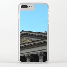 Facade of Kazan Cathedral Clear iPhone Case