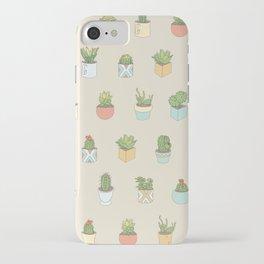 Cute Succulents iPhone Case