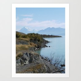 Lake Pukaki Art Print