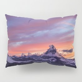Himalayas Fishtail Mountain Sunset Pillow Sham